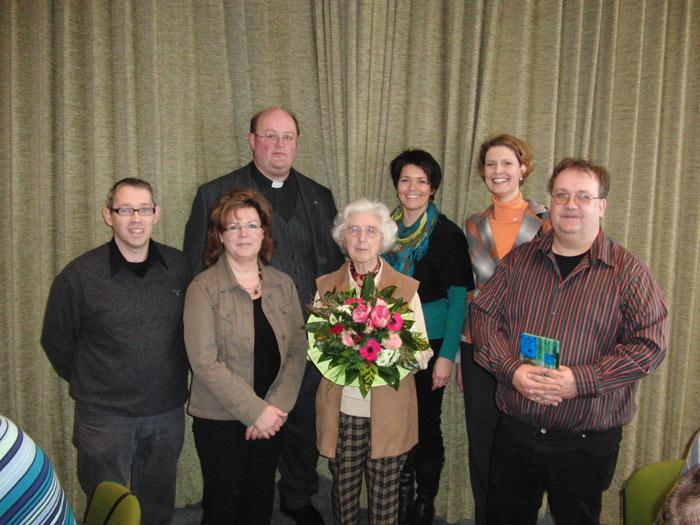 Neu im Kirchenvorstand ist Anja Spiegel und im PGR Matthias Linzbach, Annette Mertin und die neue Vorsitzende Michaela Schlummer.