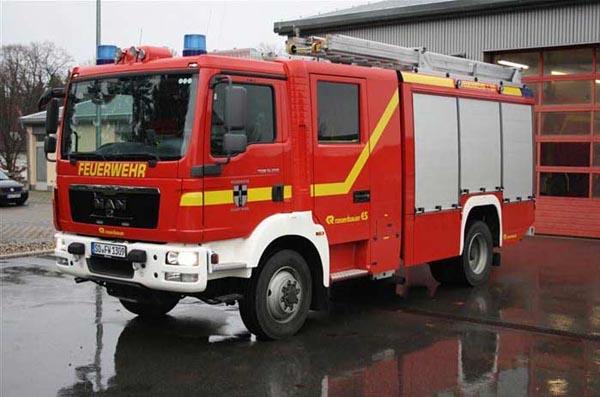 Ein neues Fahrzeug für die Feuerwehr