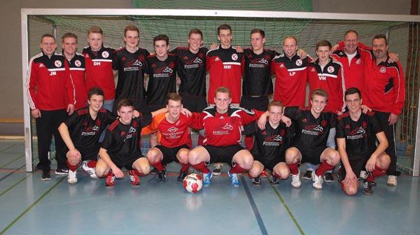 A-Jugend gewinnt Kreishallenpokal (Foto: Anzeiger)