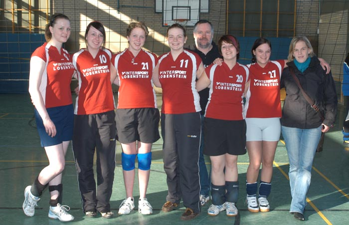 2. Volleyballmannschaft von RW Westönnen feiert die Kreismeisterschaft