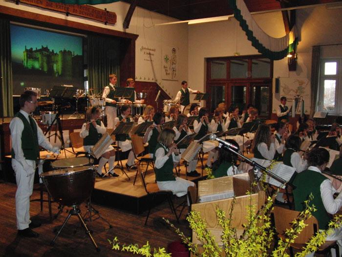 Ein toller Erfolg – das Konzert des Jugendspielmannszuges.