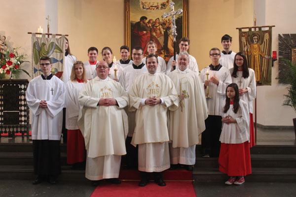 Auf dem Weg zum Priester - Diakonweihe von Martin Hufelschulte