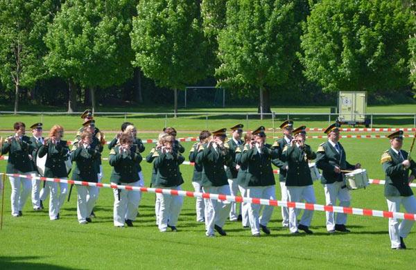 Erfolgreiche Teilnahme am Landesmusikfest - Jugendspielmannszug und Einigkeit