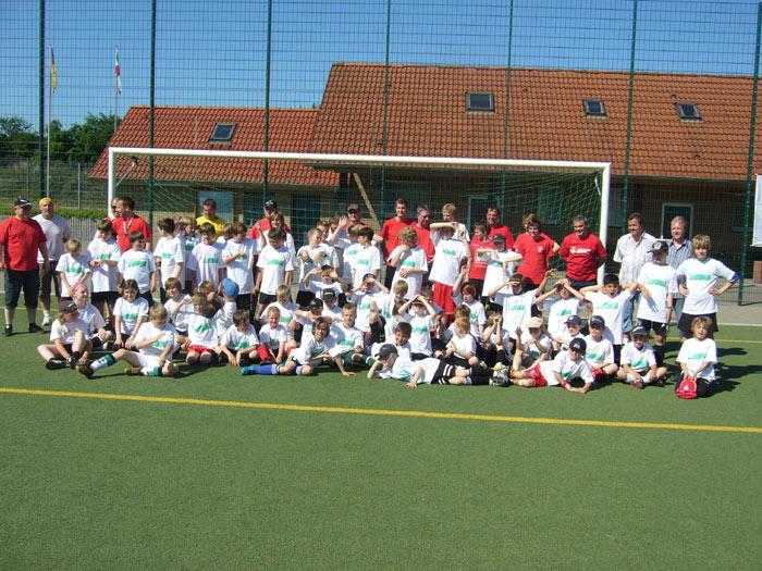 Mittlerweile eines der Sporthighlights des Jahres: Das Fussballcamp.