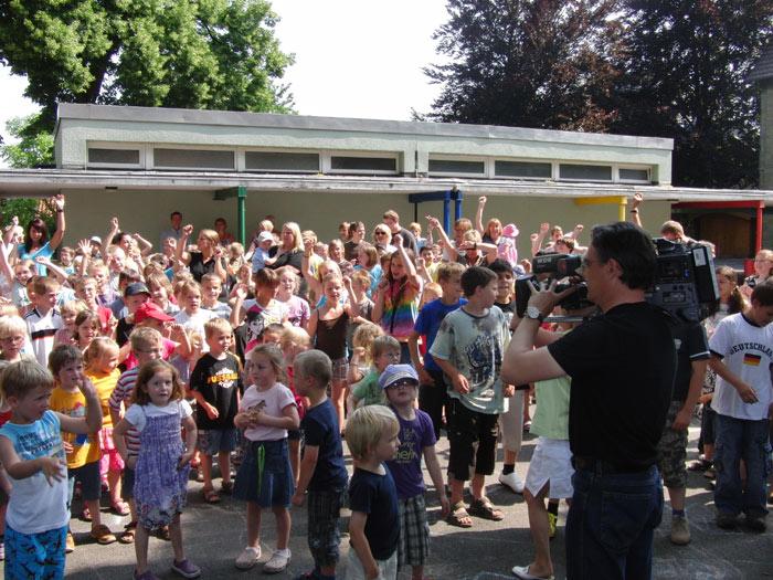 Mittendrin: Der WDR sendet mal wieder aus Westönnen