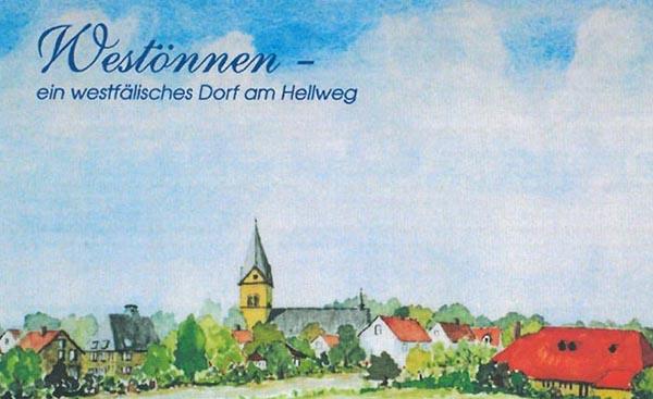 Ein Postkartenset mit Westönner Motiven - Herausgeber Westönnen Online