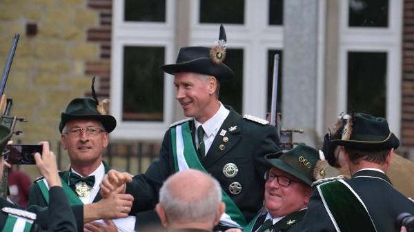 Mit dem 136. Schuss sicherte sich Thomas Gerke die Königswürde in Westönnen