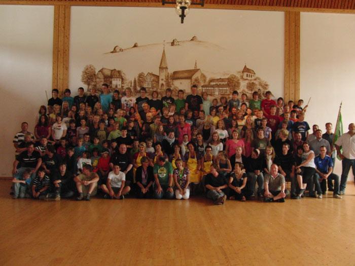 Im August sind alle Kinder mal wieder in Bruchhausen.