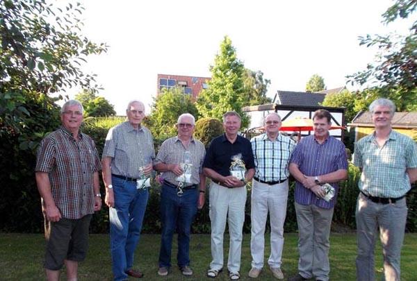 Hubert Wittenbrink für 50 Jahre Vorstandsarbeit geehrt