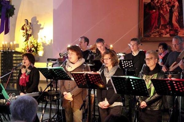 Ein Highlight der Weihnachtszeit - Konzert der Gruppe Miteinander