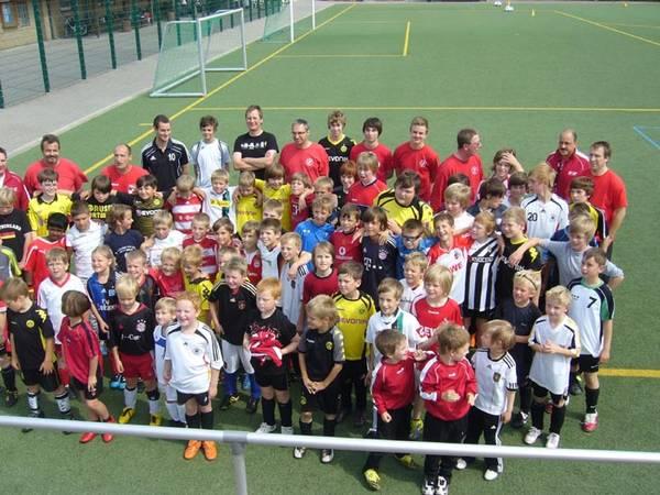 Fußballferiencamp begeistert Kinder und Betreuer