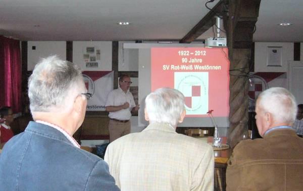 Rot-Weiß Westönnen feiert 90-jährigen Geburtstag