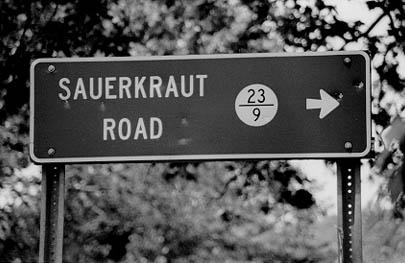 Sauerkraut Road Westönnen