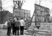 Vorarbeiten fürs Jugendheim bzw. Abriss der alten Scheune