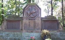 Das Friedhofsgelände war dort in den Jahren 1845-1921.