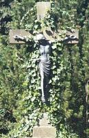Grabkreuz auf dem Westönner Friedhof.