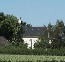 Die Kapelle von außen.