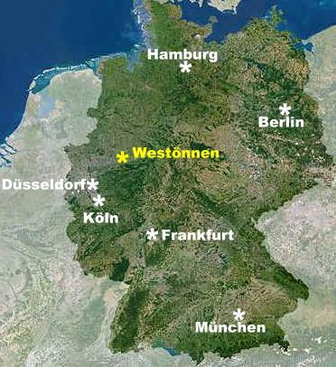 Westönnen in Deutschland