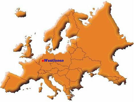 Westönnen in Europa