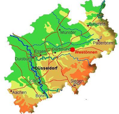 Westönnen in Nordrhein-Westfalen