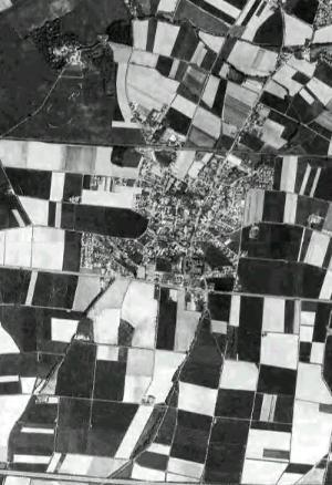 Westönnen - Blick aus dem Weltraum