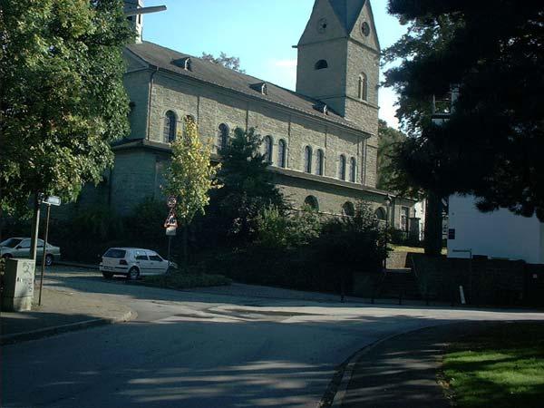 Blick von der Bachstraße
