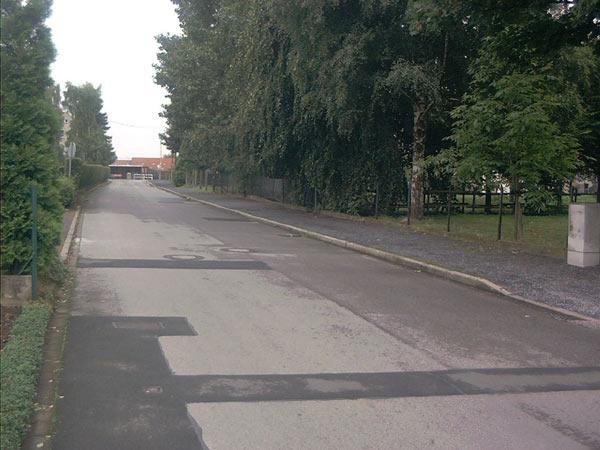 Weg zur Bruchstraße