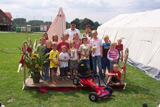 Siegerehrung Kettcarrennen Bürgerfest 2006