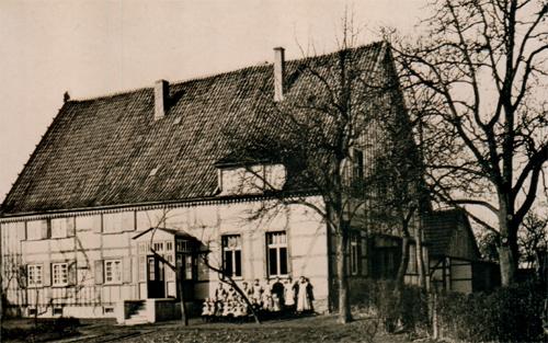 Das alte Schwesternhaus von 1912