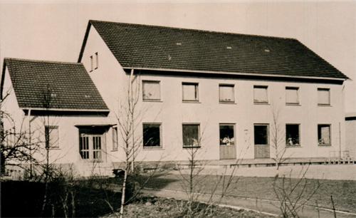 Der neue Kindergarten von 1963