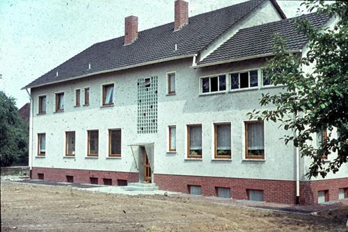 1963 Das Gebäude von Westen gesehen
