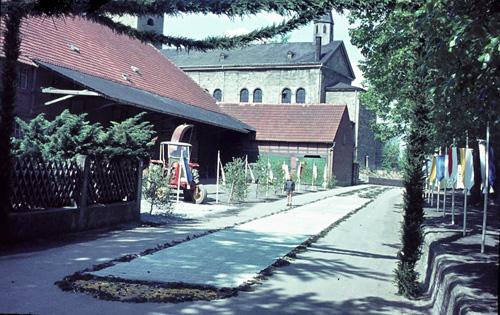 Der Blumenteppich in der Kirchstraße