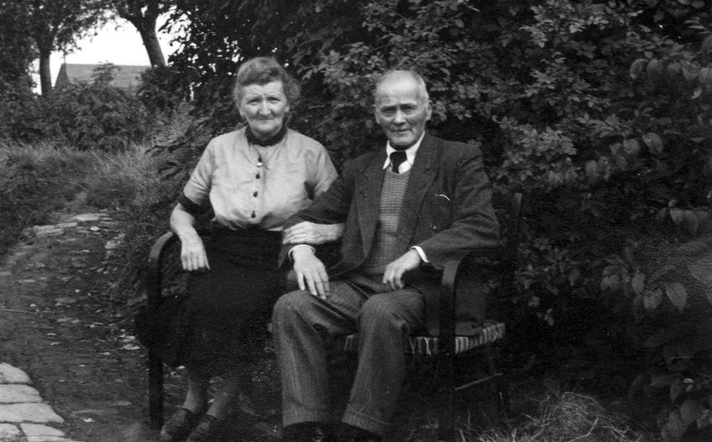 Hubert Bungart mit seiner Ehefrau in späteren Jahren.