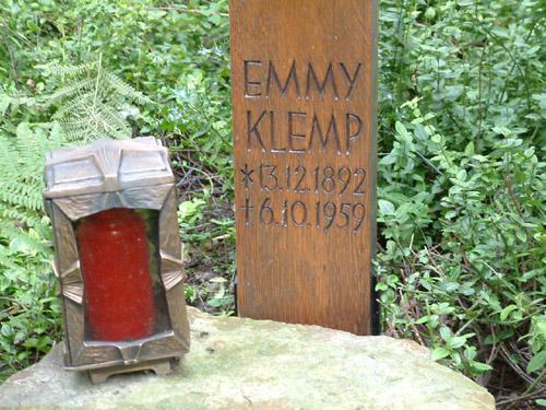 Die Lebensdaten von Emmy Klemp
