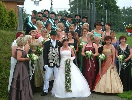 Willi und Anette Mertin sind das Königspaar in Westönnen