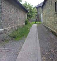 Hier bahnte sich der Westönner Bach seinen Weg Richtung Kettler-Park