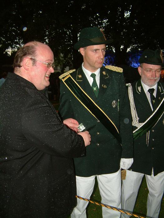 Verleihung des Ordens