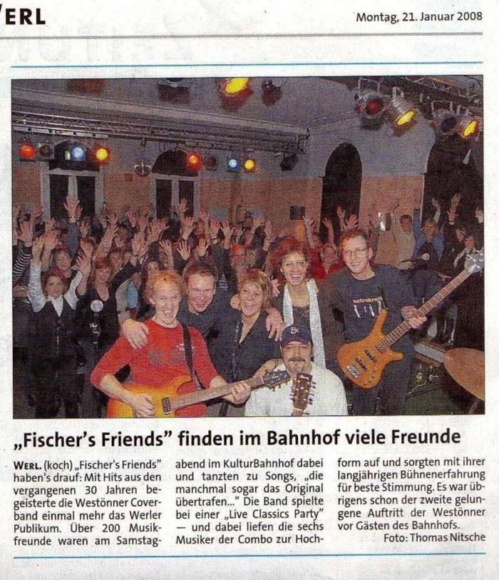 Pressebericht aus der Westfalenpost