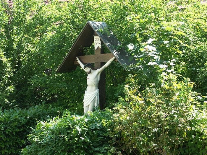 Das alte Kreuz im Jahre 2006