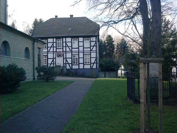 Das letzte Pfarrhaus unserer Gemeinde