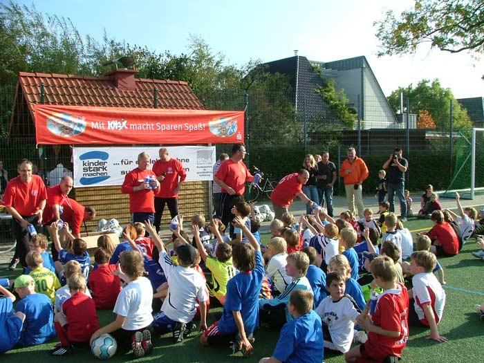 Das erste Fußballferiencamp hat allen viel Spaß bereitet