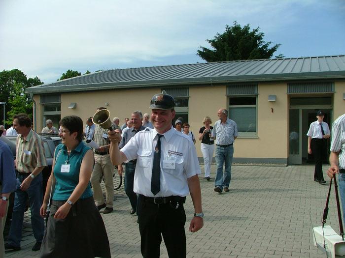 Mal wieder in Westönnen: Die Kommission des Dorfwettbewerbes