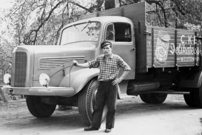Ferdi Düser(+1996), bis 1958 Fahrer