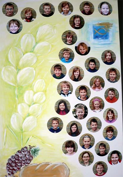 Die Kommunionkinder 2009