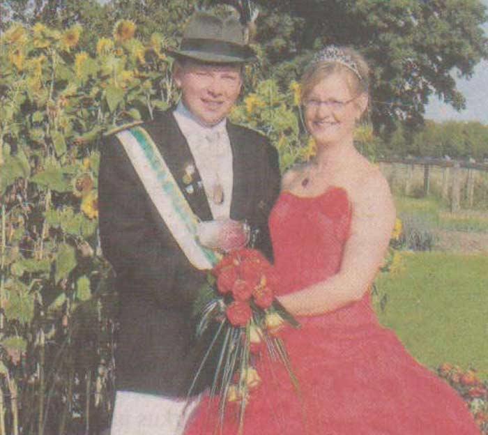 Meinolf und Angela Radke regieren in Merklinghausen-Wiggeringhausen...