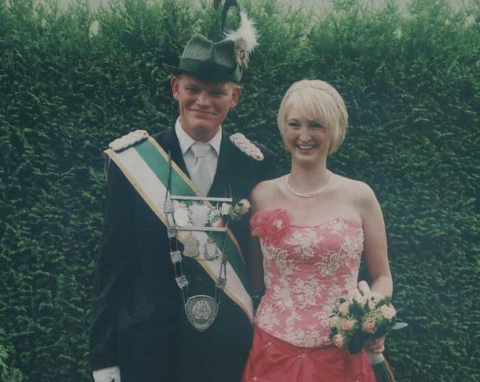 ... und Hendrik Liebscher und Alexandra Schriek in Hewingsen