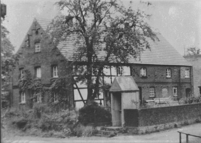 Das Haus Post aufgebaut nach dem Brand 1947