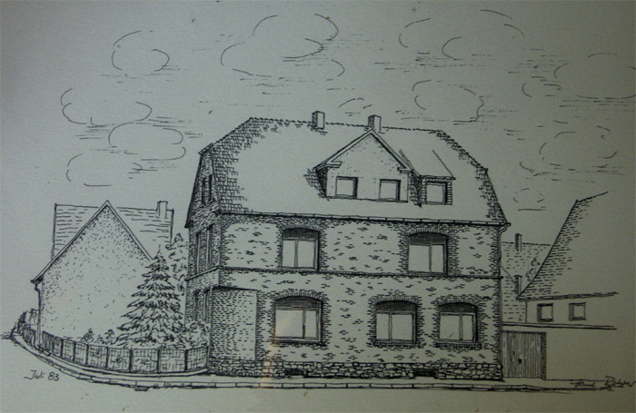 Heinz Rohrer, Zeichnung von 1983