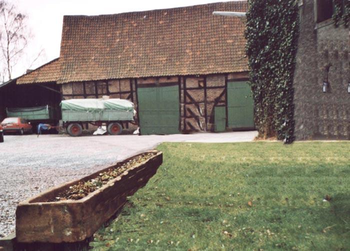 Wirtschaftsgebäude mit Balken