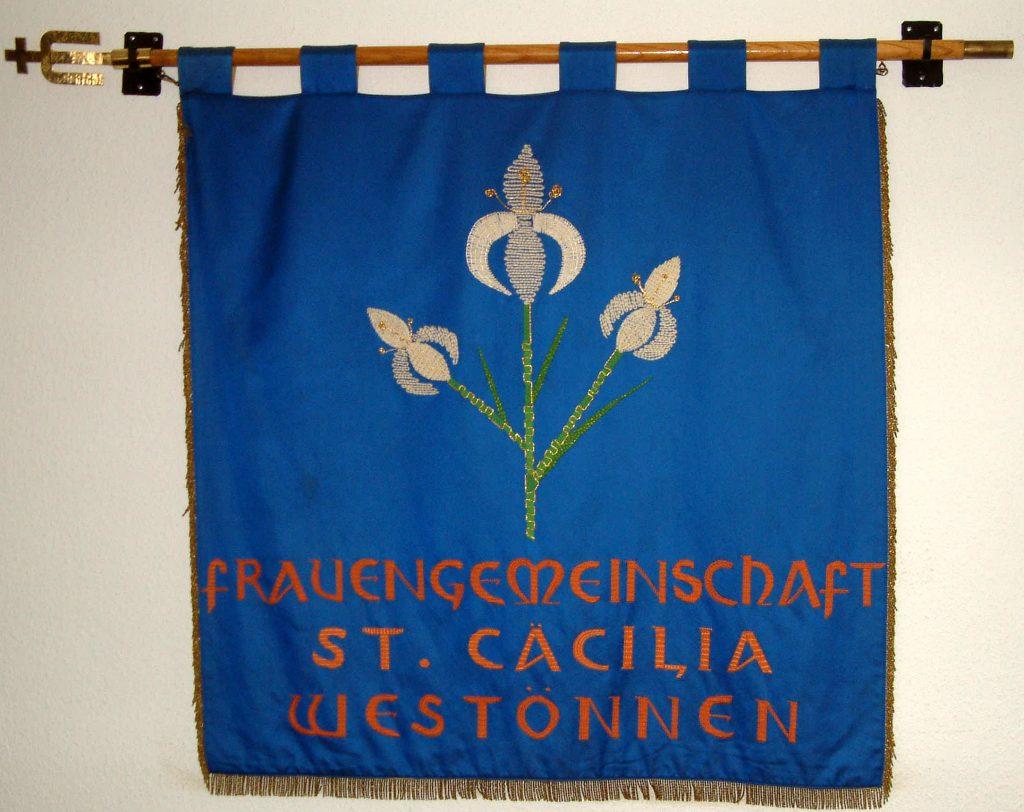 Die neue Fahne seit 1990 zur 80-Jahr Feier